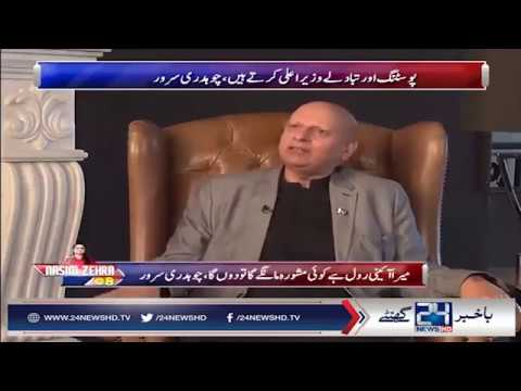 Chaudhry Sarwar Views On NAB Law | 24 News HD