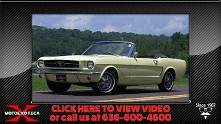 1965 Ford Mustang || For Sale