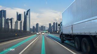 """Video: Izraelská """"smart road"""" dobíjí auta za jízdy"""
