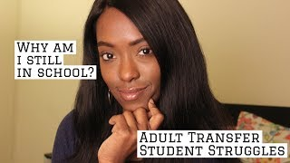 College Transfer Student Advice: Too Old? | Transfer Diaries #3