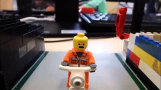 preview picture of video 'Teds Mordanschlag - Computerkids go Brickfilmers an der vhs Straubing'