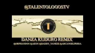 Don Omar Feat. Akon  Daddy Yankee  Arcangel - Danza Kuduro Remix @TalentologosTV