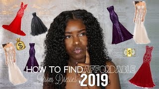 FINDING AFFORDABLE PROM DRESSES 2019| Best Dress for Your Body Type|AllaijaBriann