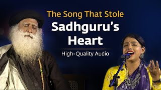 Sojugada Sooju Mallige | Ananya Bhat | Sounds of Isha | Live at Mahashivratri| Sadhguru|High Quality