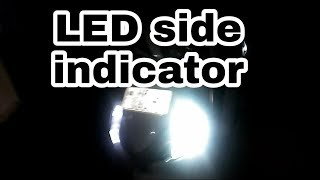 How to install LED on side indicators | honda aviator | MR.AUTOMOBILER