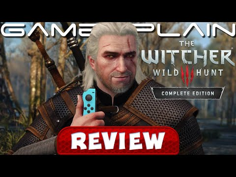 The Witcher 3: Wild Hunt – Complete Edition REVIEW (Nintendo Switch) - YouTube video thumbnail