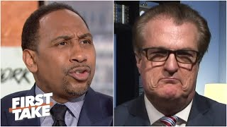 Stephen A. grills Mel Kiper on his 2020 NFL Mock Draft 2.0 picks | First Take