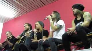 Disciple - Someday (acoustic) live at CRN 2014