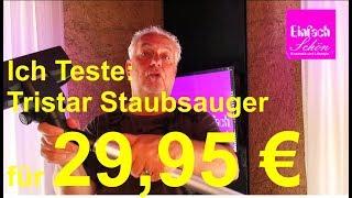 Ich Teste: TRISTAR PD-8702 Staubsauger von 29,95 bis 59,95 Euro - Einfach schön