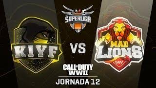 KIYF ESPORTS VS MAD LIONS E.C. | Superliga Orange COD | (Jornada 12)