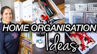 HOME ORGANIZATION IDEAS 2020   ORGANIZING ON A BUDGET   BEST HOME STORAGE HACKS
