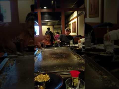 Video Sakura restaurant. Flagstaff arizona