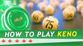 Speciality Games - Keno