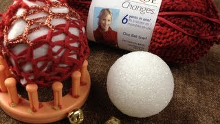 How to Loom Knit | Ornament or a Decorative Ball