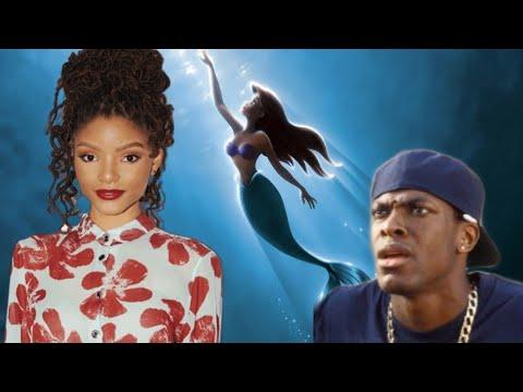 Woke Disney - The Little Mermaid Gets Race Swapped видео