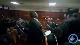 Suspect Peter Ngugi in the Willy Kimani murder case dismissed lawyer