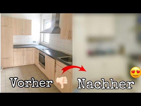 Unsere NEUE KÜCHE 😍 Wir transformieren unsere Küche 😂 Ebru & Tuncay