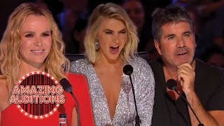 INCREDIBLE Dance Auditions On America's Got Talent And Britain's Got Talent | Amazing Auditions