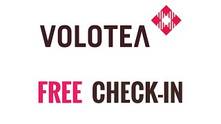How to get Free Boarding Pass Volotea Online check-in PC/Mac