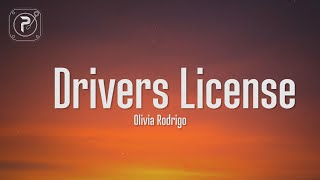 drivers license - olivia rodrigo (Lyrics) I got my driver's license last week