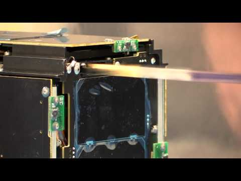 LightSail antenna and solar panel deployment