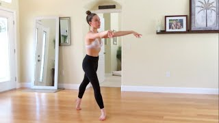 Online Lyrical Dance Class! (LEARN COMBO AT HOME) Ava Chappell Choreography