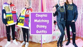 Couples Matching Disney Outfits