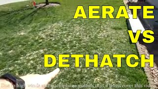 Should you aerate or dethatch your lawn this spring?
