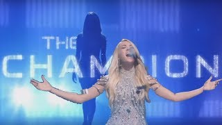 """Carrie Underwood """"The Champion"""" Superbowl 2018 Opening Song ft. Ludacris (Lyrics in Captions)"""
