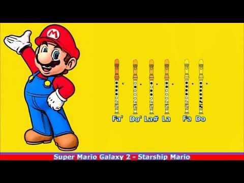 Super Mario World on Recorder (NOTES) - смотреть онлайн на