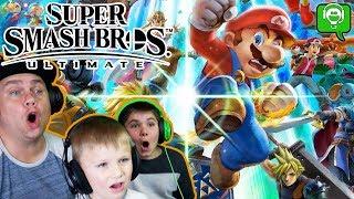 Super Smash Bothers Ultimate with HobbyFamilyGaming