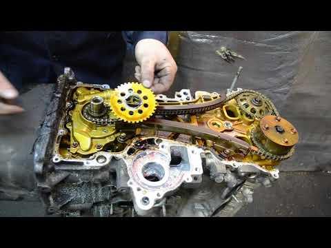 Разбор двигателя 2ZZ-GE