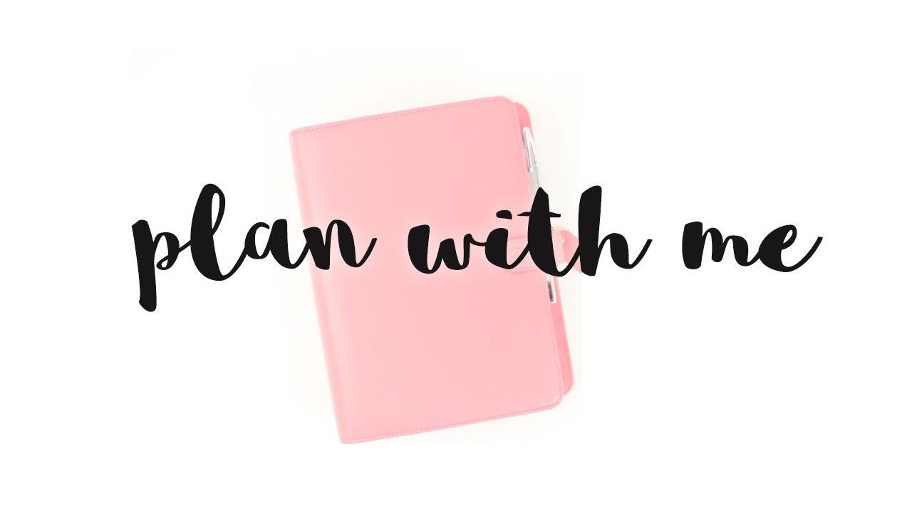 Decoración de agenda | Plan with me | Week 14/2017