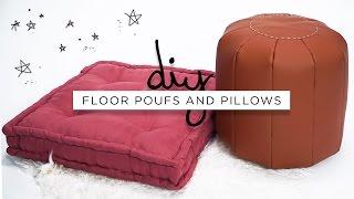 DIY Interior: Sofa Pouf & Bantal Duduk