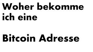 Was ist mit der Bitcoin-Adresse gemeint?