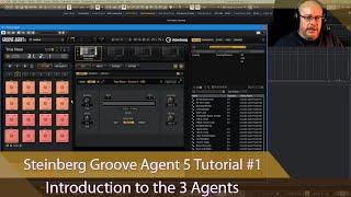 Steinberg Groove Agent 5 Tutorial