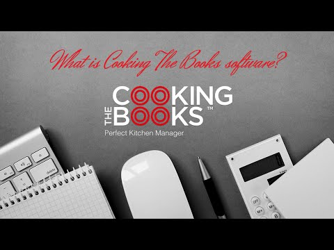 Cooking the Books is the Perfect Kitchen Manager
