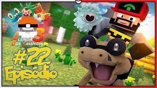 Sandile  - (Pokémon) - Minecraft A Lenda dos Campeões 3 #22 - O Desafio do Sandile Shiny [Pixelmon]