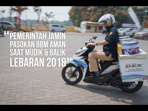 Menteri Jonan Uji Coba Motor BBM di Jalur Mudik