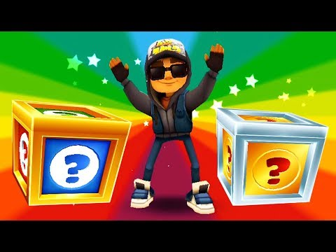 SUBWAY SURFERS Gameplay HD - Shanghai - Jake And 42 Mystery Boxes Opening