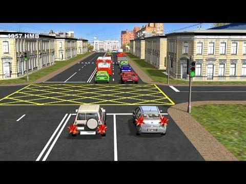 Проезд перекрёстков 1 часть