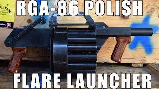 RGA-86 15 Shot Rotary 26.5mm Polish Flare Launcher