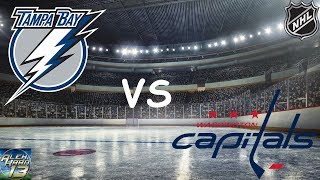 ТАМПА БЭЙ - ВАШИНГТОН: ПРОГНОЗ НА NHL