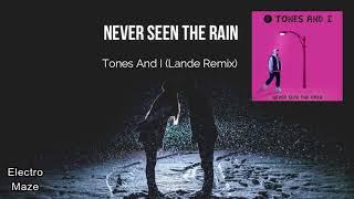 Tones And I   Never Seen The Rain (Lande Remix)