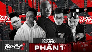 BECK'STAGE BATTLE RAP KNOCK-OUT ROUND - FULL EVENT (PHẦN 1)