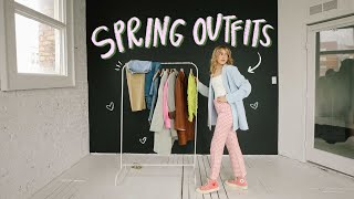 cute & casual outfits for spring!