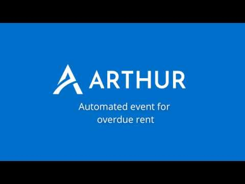 Watch Create an automated action for overdue rents