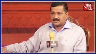 AAP Leader Arvind Kejriwal At Agenda Aajtak | Part 2