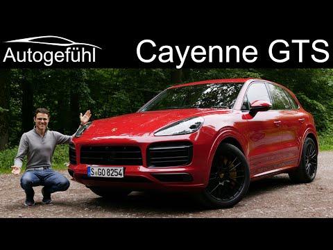 new Porsche Cayenne GTS V8 FULL REVIEW 2020 - Red, Black, Alcantara - let's go!