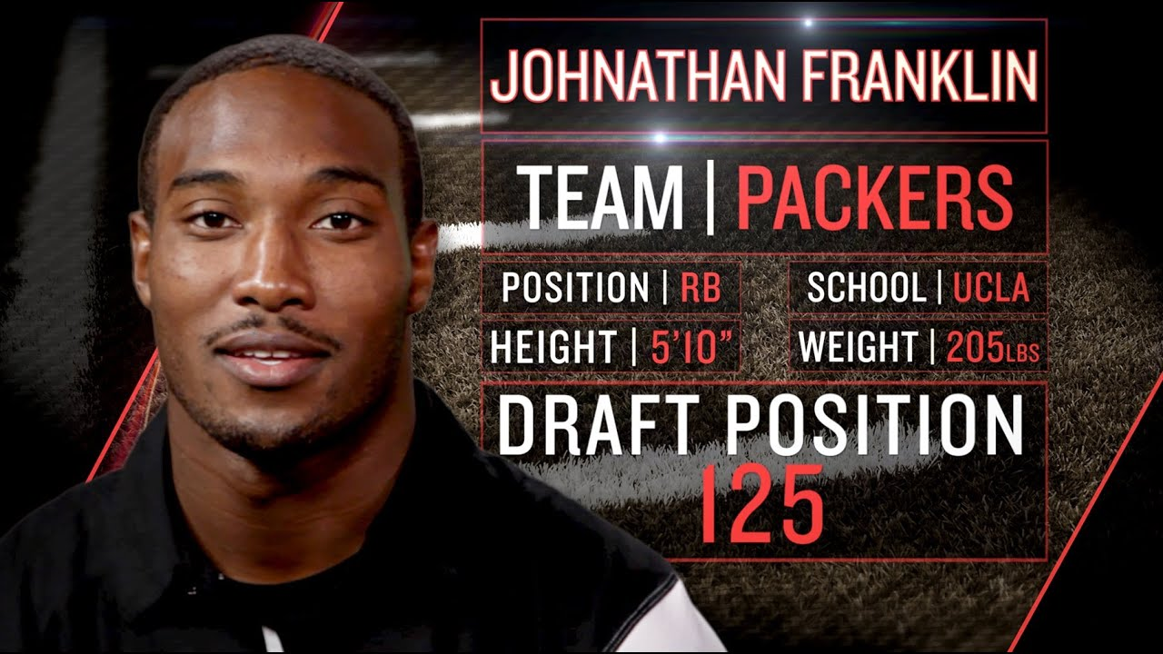 Packers Rookie Johnathan Franklin on Lambeau Leap, Running for Mayor (2013 NFLPA Rookie Premiere) thumbnail